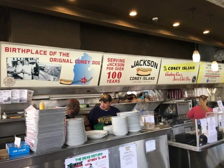 Jackson Coney Island First Coney Island in Michigan