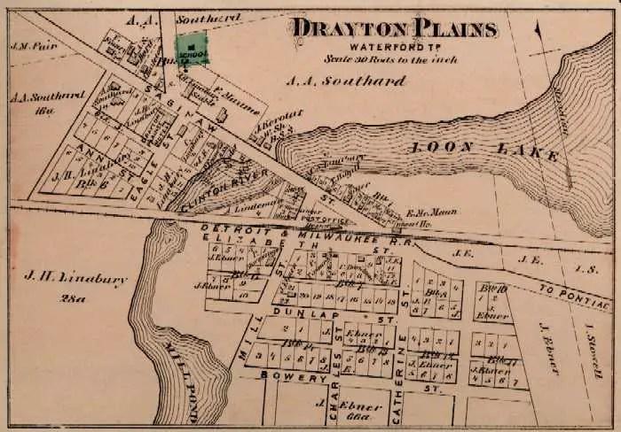 Drayton Plains 1872