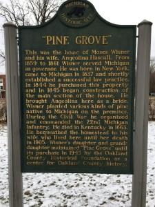 Pine Grove Historical Marker