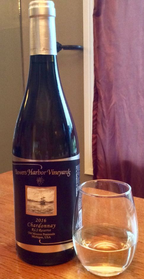 Bowers Harbor Chardonnay - Michigan Wine Trail