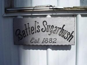 Battels Sugurbush Sign