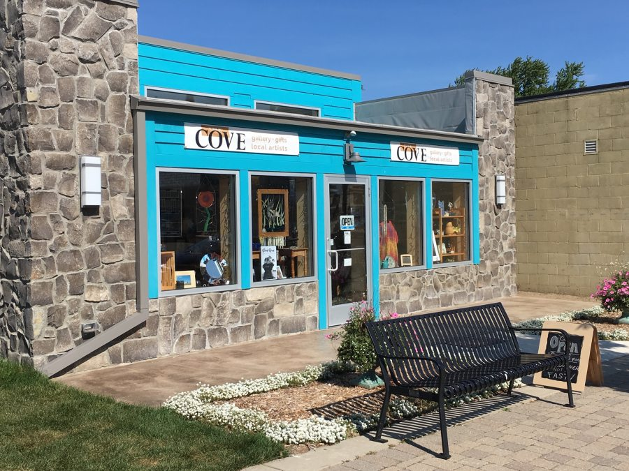 The Cove, Port Austin Michigan. An art galley and gift shop.