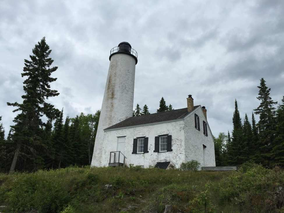 Rock Harbor Lighthouse - Isle Royale National Park