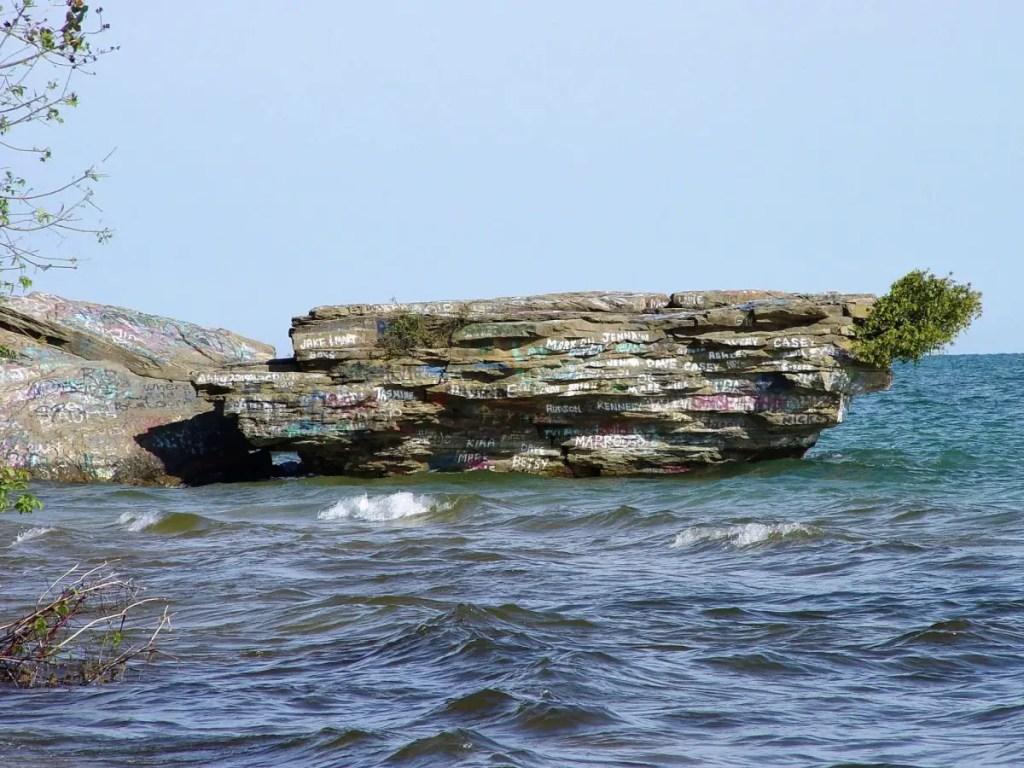 Michigan Indian Gold - Loosemore Rock