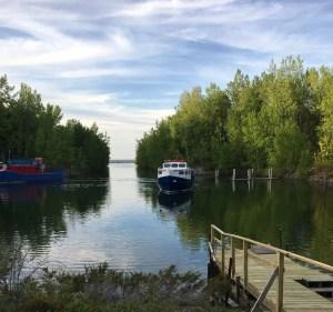 Charity Island's LIttle Harbor