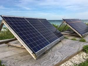 Michigan Lighthouses - Charity Island Solar