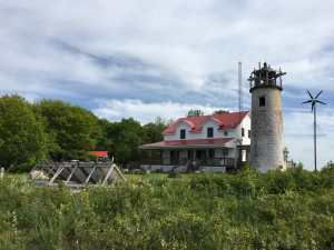 Charity Island Lighthouse and Solar