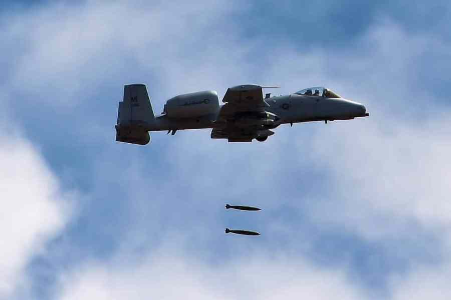 A-10 Training out of Selfridge ANG