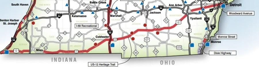 US-12 Heritage Trail Michigan Road Trip