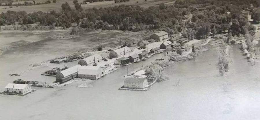 Bay Port Commercial Fishing District in 1940