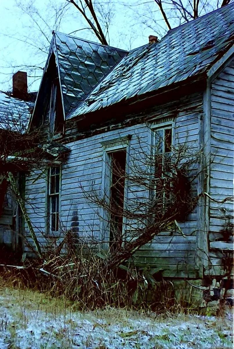 Abandoned Farmhouse Door