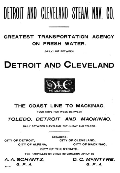 Detroit Cleveland Steam Navigation Company