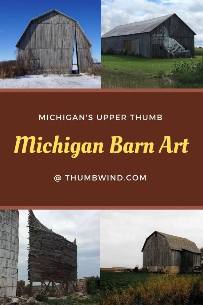 Michigan Barn Art