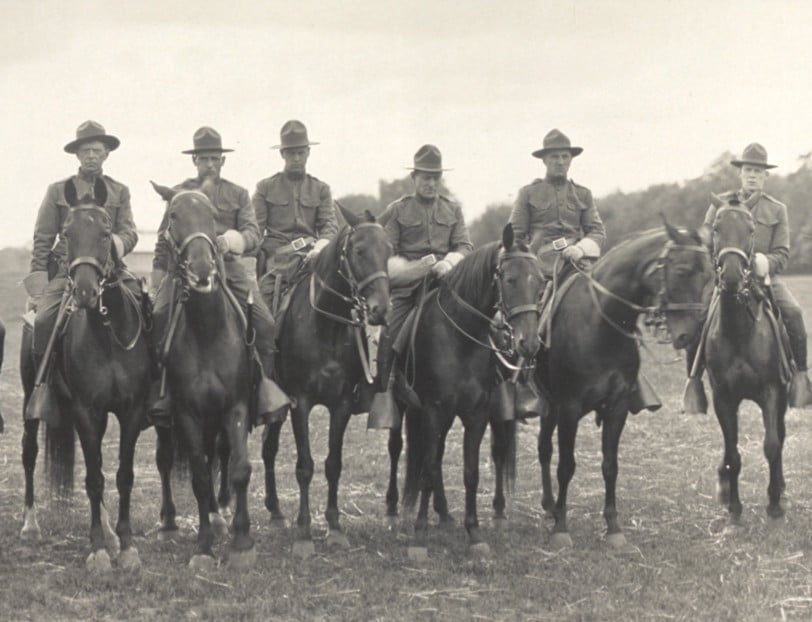 Michigan State Troopers  1917