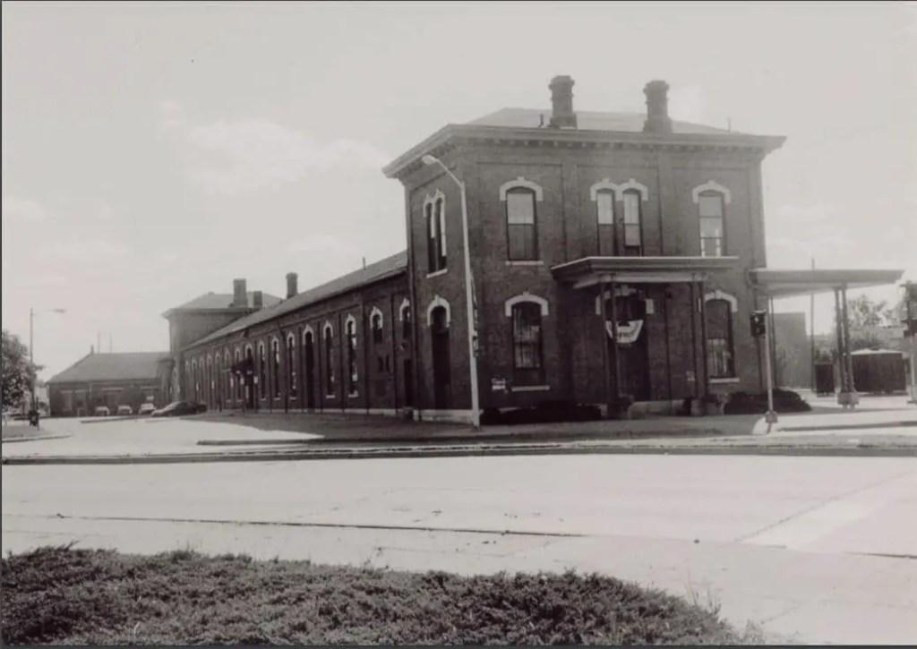 Jackson's Michigan Central Depot Exterior