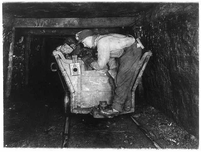 Coal Miner from 1900s