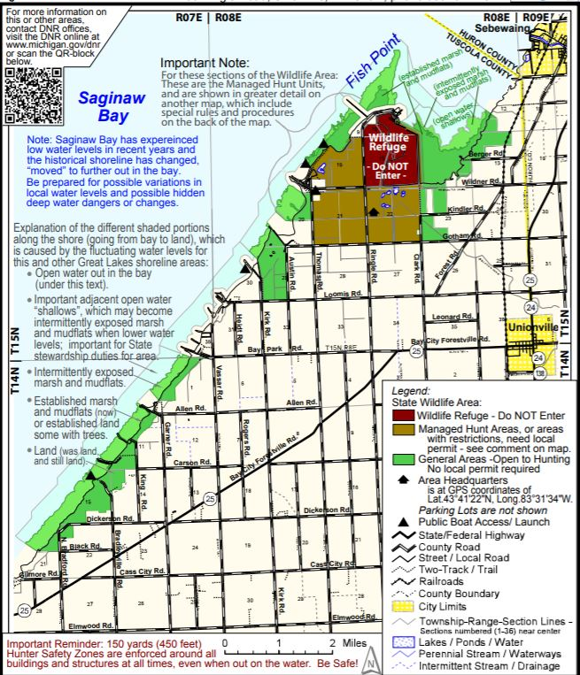 Fish Point Wildlife Area Map