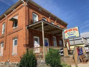 The Herman House Hotel - Lake View Hotel - Port Hope Michigan