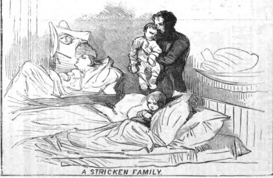 Great Michigan Fire 1881 - A Stricken Family