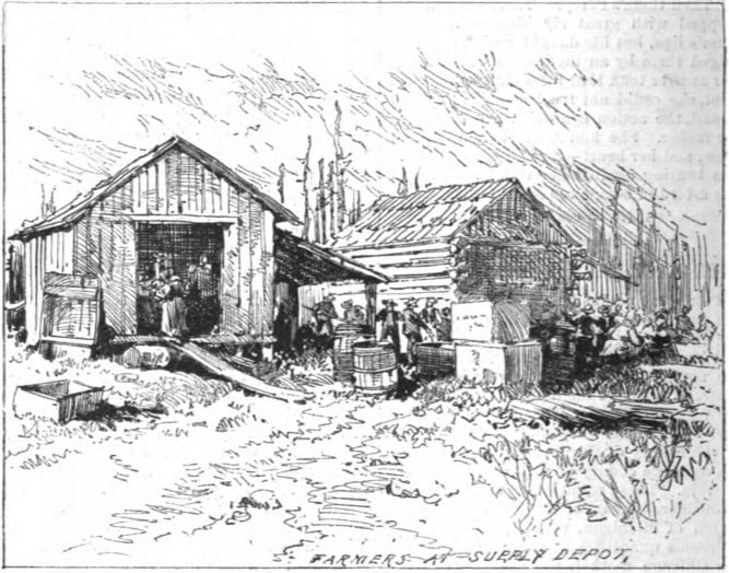 Great Michigan Fire 1881 - Farmers Supply Depot