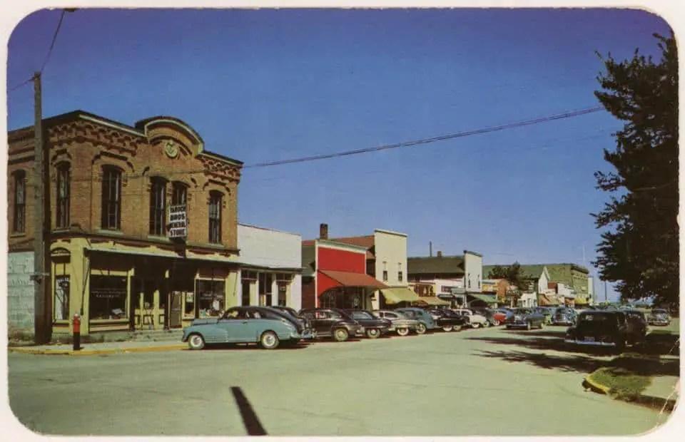 Port Austin Lake Street 1951