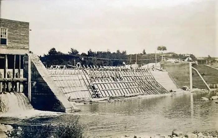 Caro Dam Construction