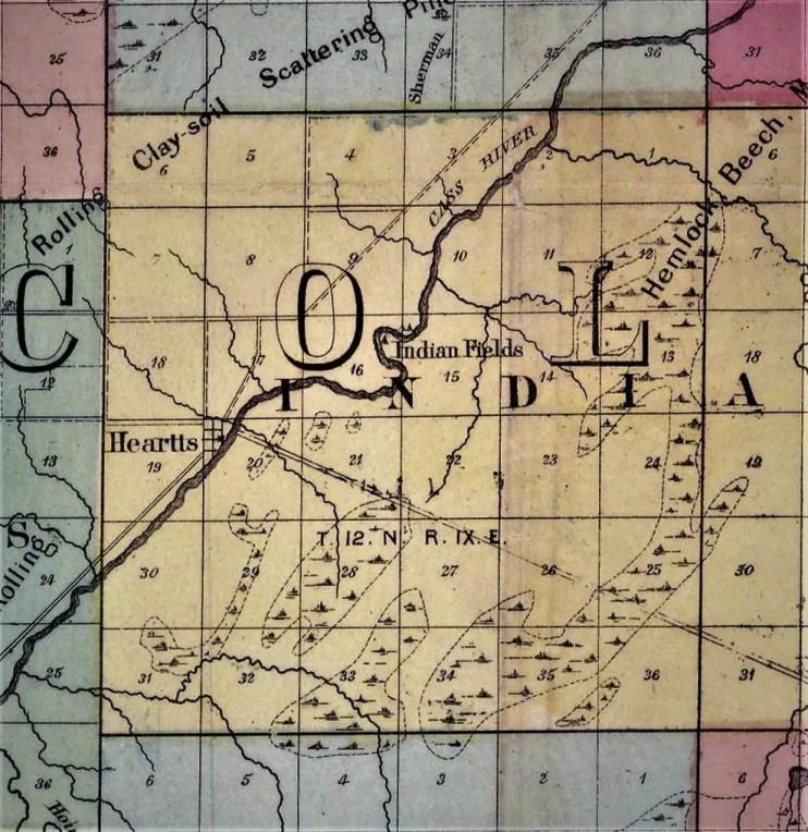 Caro Plat Map