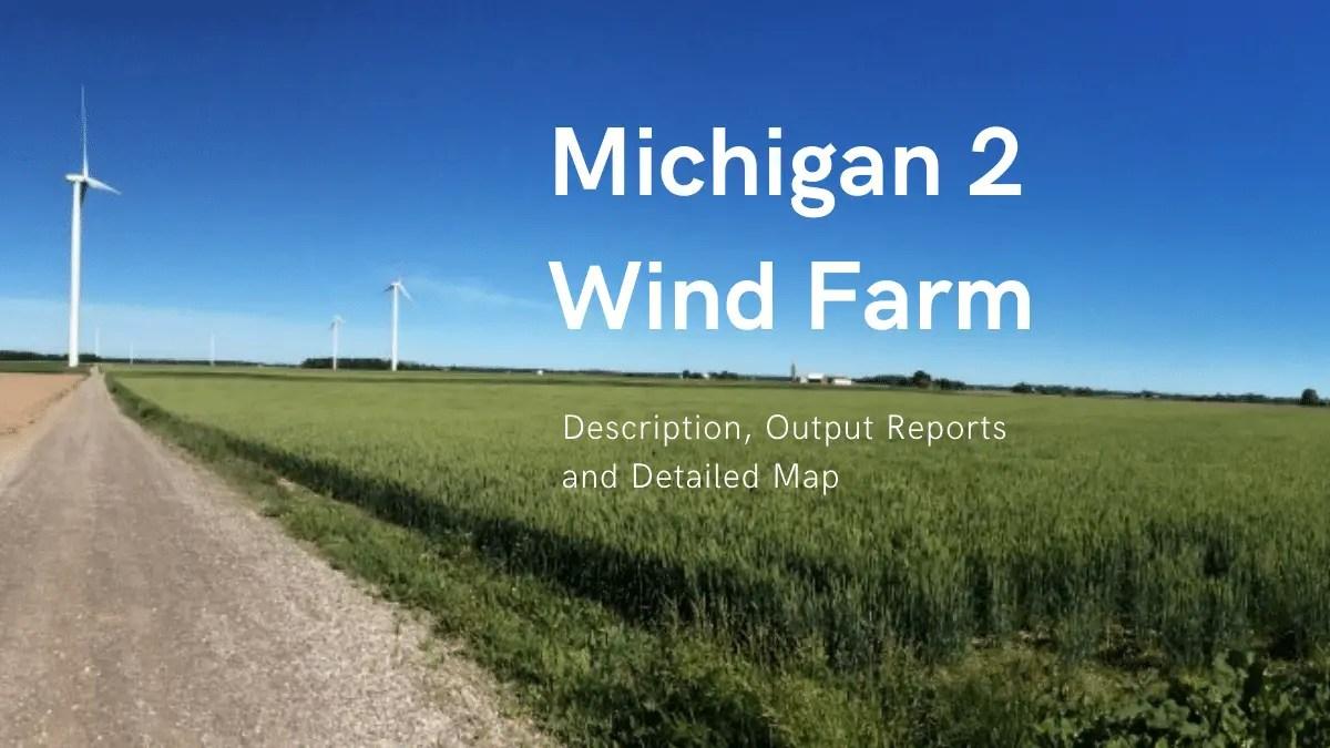 Michigan II Wind Farm Feature Image