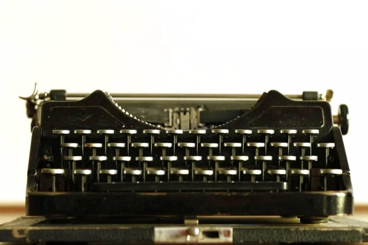Michigan Author - Typewriter