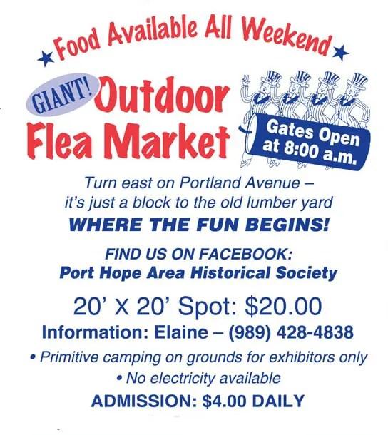 Flea Market of the Port Hope Festival