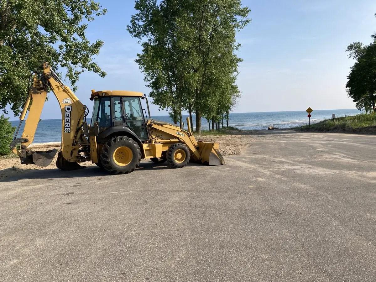 Oak Beach Boat Ramp Restoration June 2021