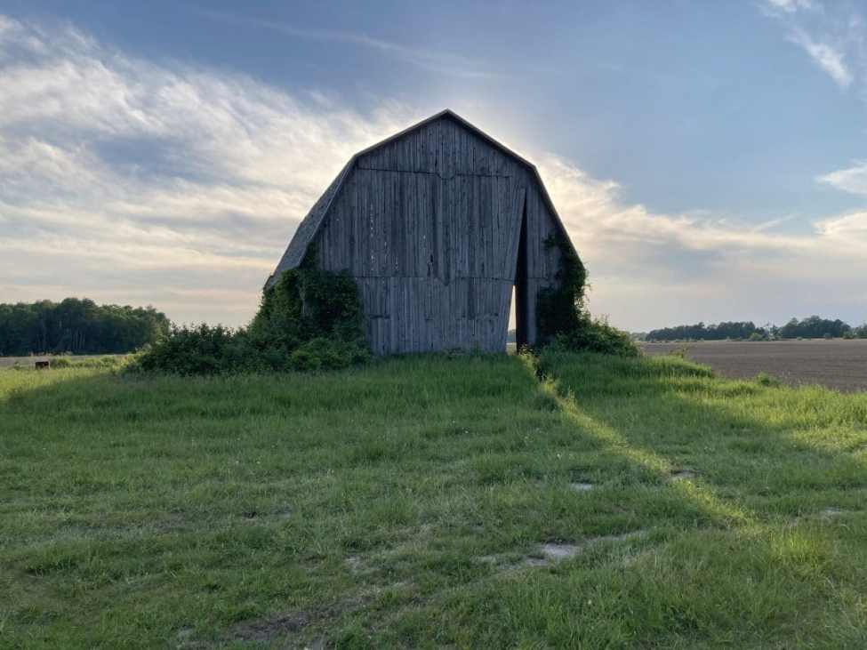 Secret Sky Barn in Michigan's Thumb