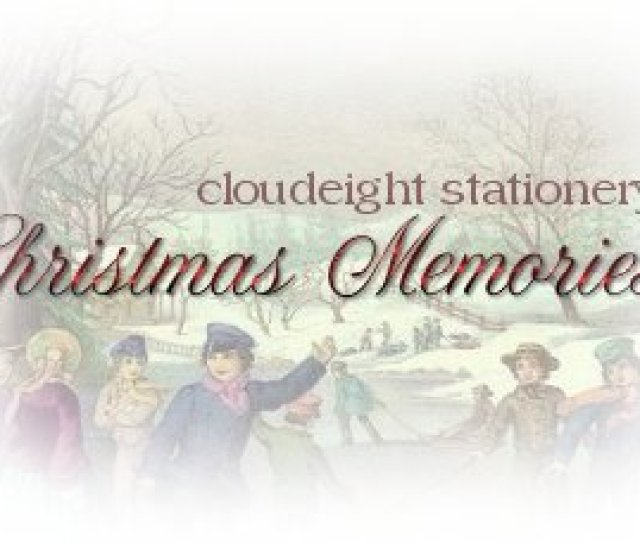 Christmas Memories Cloudeight Stationery Free Stationery For Outlook Outlook Express