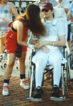 Kevin Wheelchair 1994