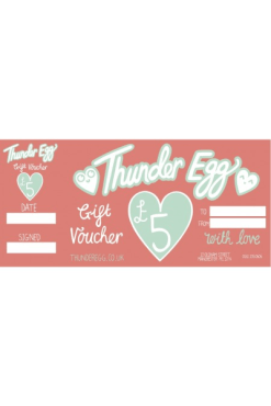 Thunder Egg 5 Pound Gift Voucher