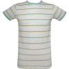 Menswear grey stripe tee