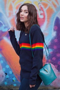 Run & Fly - Unisex Rainbow Jumper