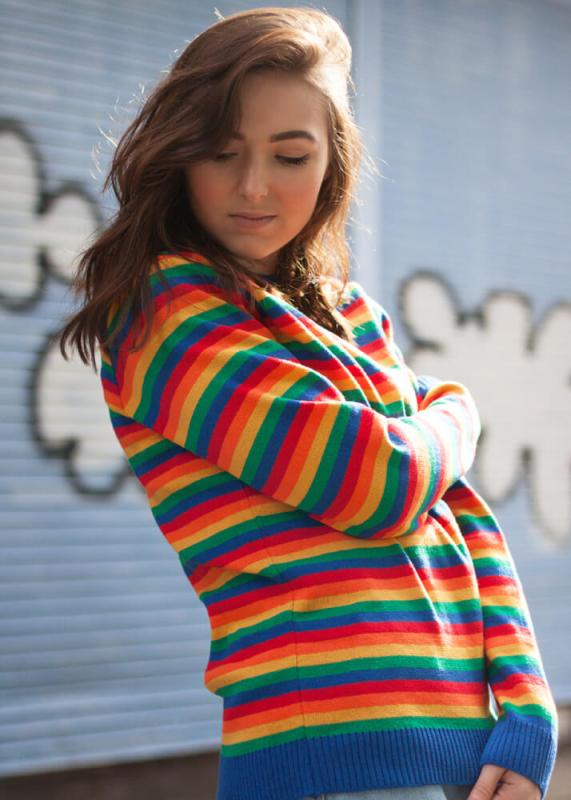 Run & Fly - Rainbow Bright Jumper
