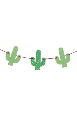 Ginger Ray - Wooden Cactus Bunting