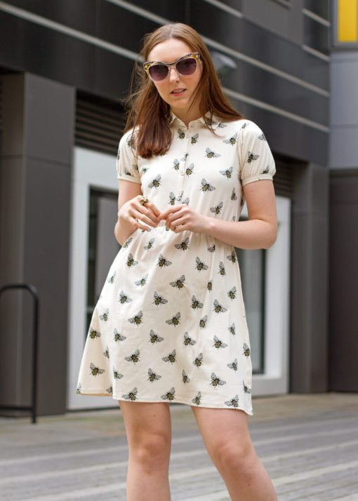 Run & Fly - Bee T-Shirt Dress
