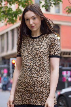 Run & Fly - Unisex Leopard Print T-shirt