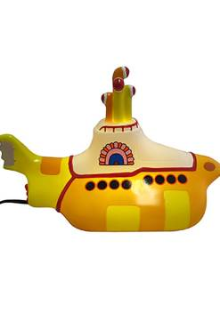 House of Disaster - Yellow Submarine Table Lamp