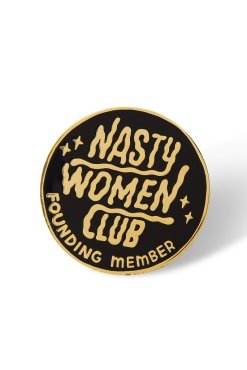 Punky Pins - Nasty Women Club Enamel Pin