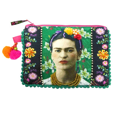 House of Disaster - Frida Kahlo Zip Purse