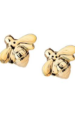 Sass & Belle - Gold Queen Bee Salt & Pepper Set
