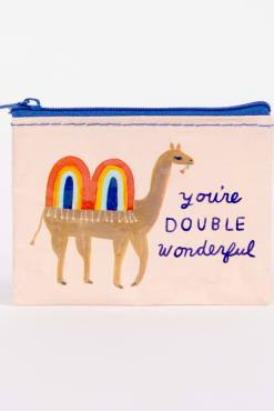 Blue Q - You're Double Wonderful Coin Purse