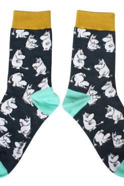 House of Disaster - Playful Moomin Socks