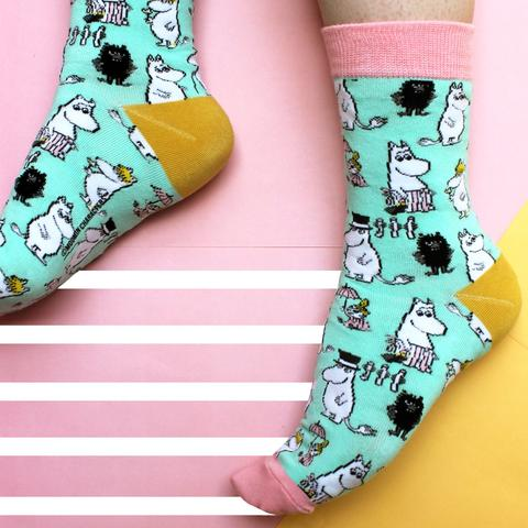 House of Disaster - Moomin Family Socks