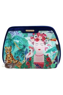 House of Disaster - Frida Kahlo Tropical Make-up Bag