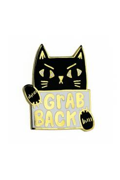 Badge Bomb - Grab Back Enamel Pin